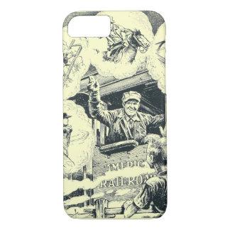 American Railroad Train Engineer iPhone 8/7 Case