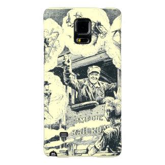 American Railroad Train Engineer Phone Case Galaxy Note 4 Case