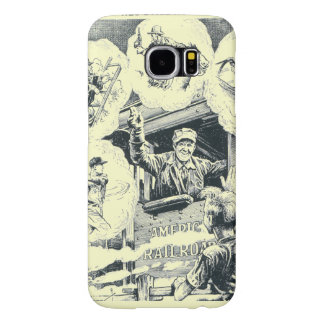 American Railroad Train Engineer Samsung Galaxy S6 Case