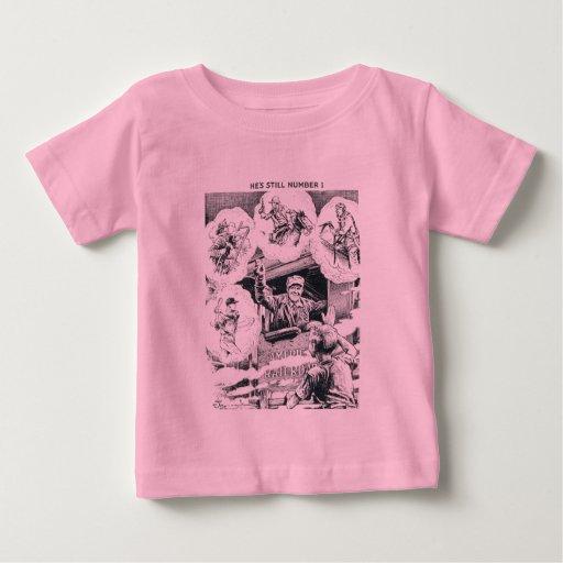 American Railroad Train Engineer Tee Shirt