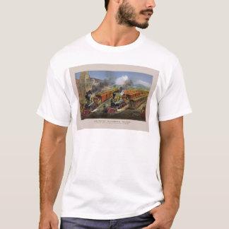 American railroad trains (1874) T-Shirt