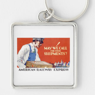 American Railway Express, May We Call Keychain