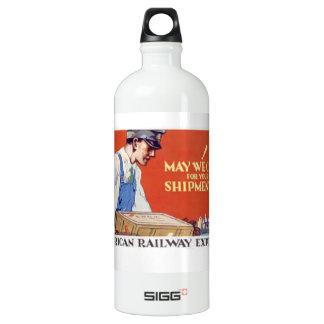 American Railway Express,May We Call ? SIGG Traveler 1.0L Water Bottle