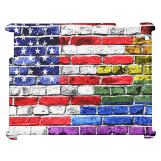 American Rainbow Flag Cover For The iPad