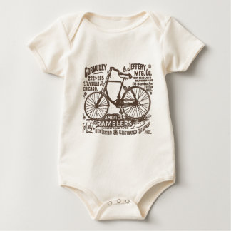 American Rambler Bicycle Baby Bodysuit