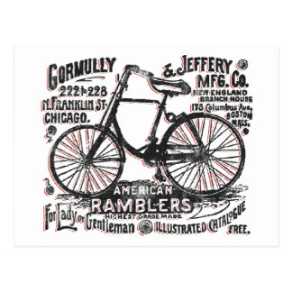 American Rambler Bicycle Postcard