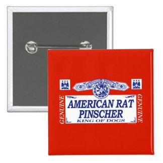 American Rat Pinscher Button