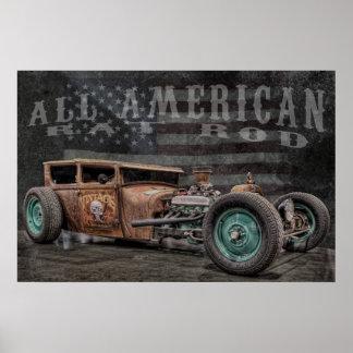 American Rat Rod Poster