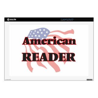 "American Reader Skin For 17"" Laptop"