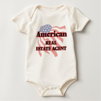 American Real Estate Agent Baby Bodysuit