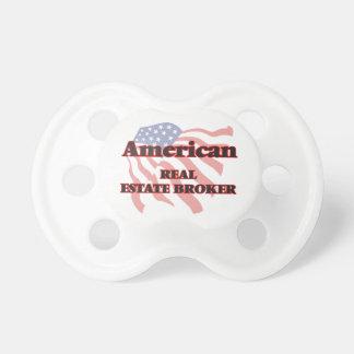 American Real Estate Broker BooginHead Pacifier