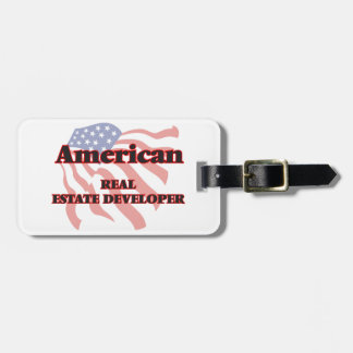 American Real Estate Developer Tag For Luggage