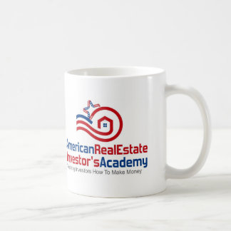 American Real Estate Investors Academy Logo Coffee Mug