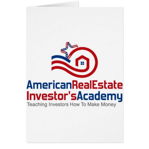 American Real Estate Investors Academy Logo Gear Card
