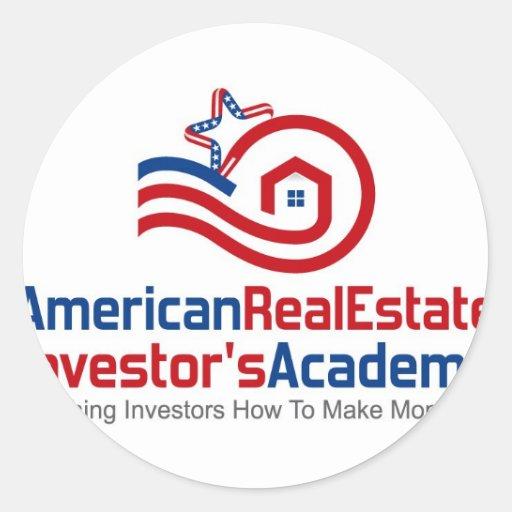 American real estate investors academy logo gear round for American real estate investments