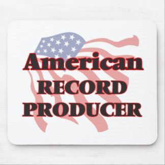 American Record Producer Mouse Pad
