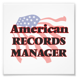 American Records Manager Photo Print