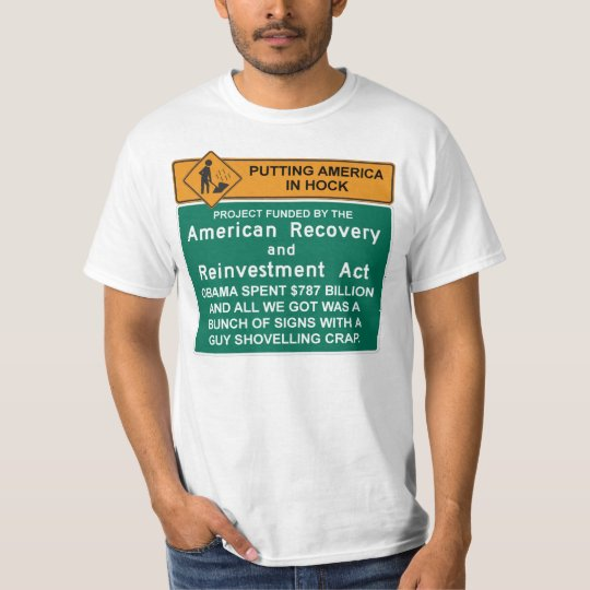 American Recovery T-Shirt  - Anti Barack Obama