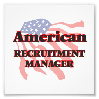 American Recruitment Manager Photo Print