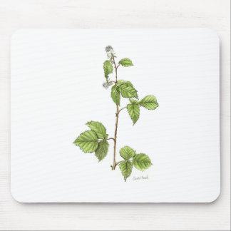 American Red Raspberry Plant Mousepad