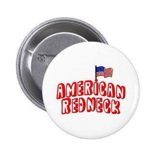 American Redneck Pins