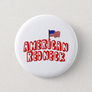 American Redneck Pinback Button