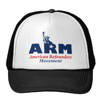 American Refounders Movement (ARM) Hats