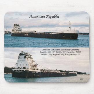 American Republic mousepad