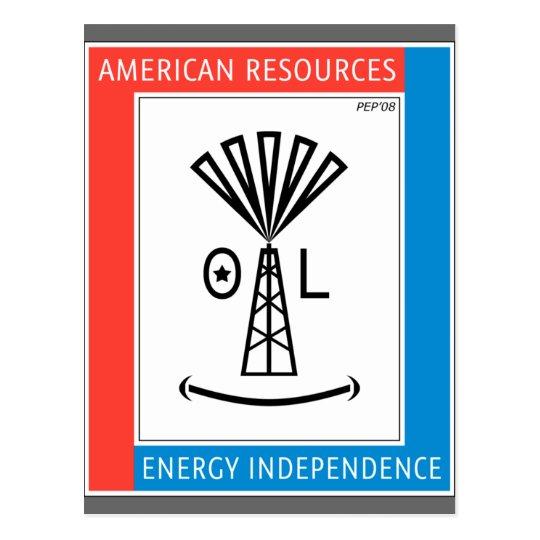 American Resources Postcard