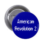 American Revolution 2 Pinback Buttons