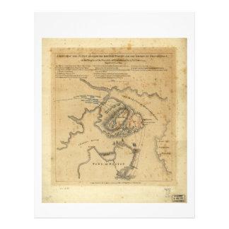 American Revolution Battle of Bunker Hill 1775 Letterhead