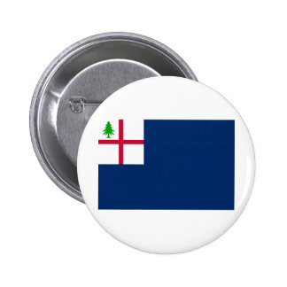 American Revolution Battle of Bunker Hill Flag Button