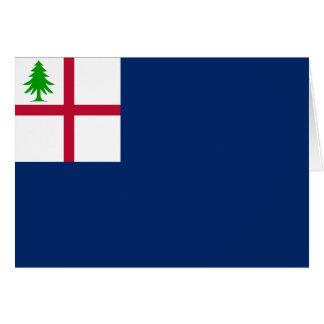 American Revolution Battle of Bunker Hill Flag Card