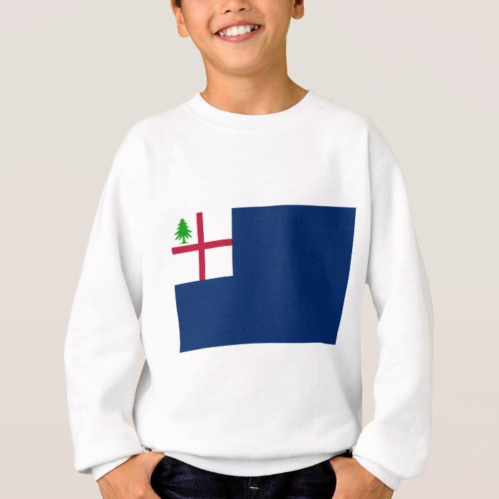 American Revolution Battle of Bunker Hill Flag Sweatshirt