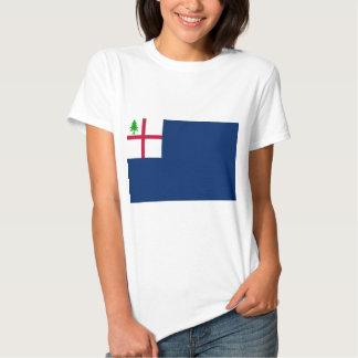 American Revolution Battle of Bunker Hill Flag T Shirt
