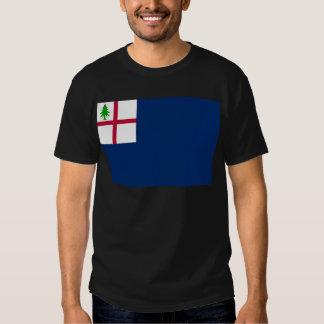 American Revolution Battle of Bunker Hill Flag Tee Shirt