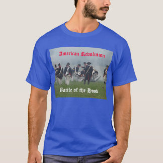 American Revolution, Battle of the Hook, T-Shirt