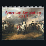 """American Revolution Calendar<br><div class=""""desc"""">2013 calendar featuring images from the American Revolution (American Revolutionary War or American War of Independence)</div>"""