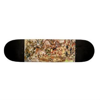 American revolution historical skate deck