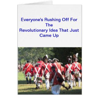 American Revolution Note Card