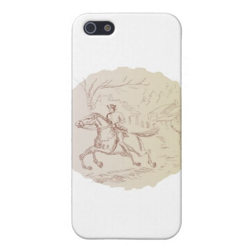 american revolutionary soldier patriot Paul Revere Case For iPhone 5