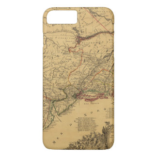 American Revolutionary War Map by J.B Eliot (1781) iPhone 7 Plus Case