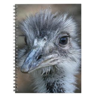 American Rhea Portrait Notebook