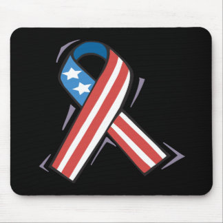 American Ribbon Mouse Pad