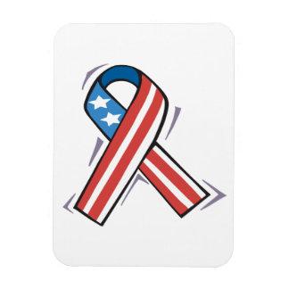 American Ribbon Rectangular Photo Magnet