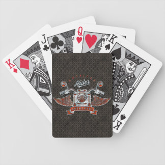 American Rider 1 Options Bicycle Playing Cards