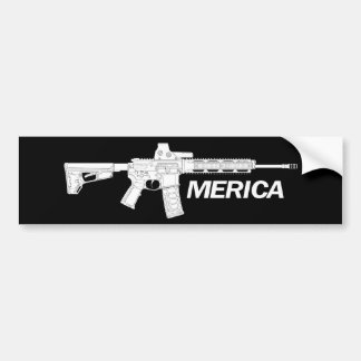 American Rifles Bumper Sticker