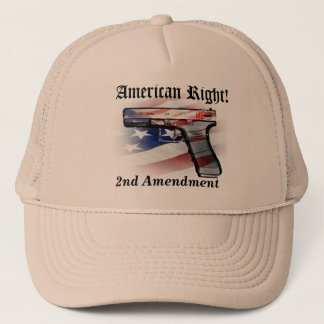 American Right to Bear Arms Patriot Cap