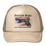 American Right to Bear Arms Patriot Cap Trucker Hat