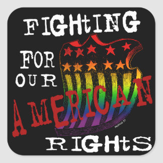 American Rights Stickers